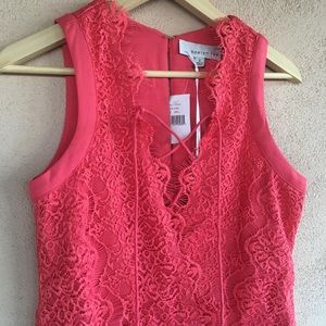 •Adelyn Rae• Lace Shift Dress-NWT